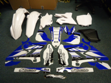 YZ 125 250 2015 Conversion kit For 02-14 Plastics Kit & Graphics PTS3 Restyle WT